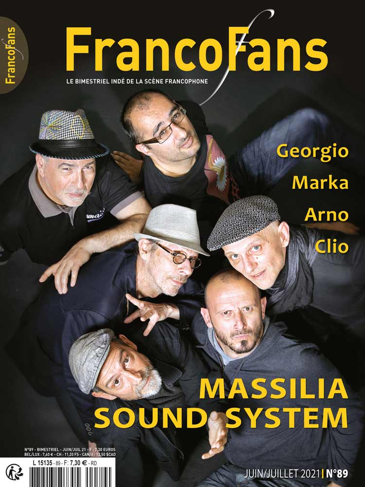 Article sur l'album Pastel de Pierre Rodier dans le magazine FrancoFans.
